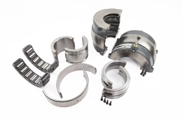 split bearing extra seals, cages and races